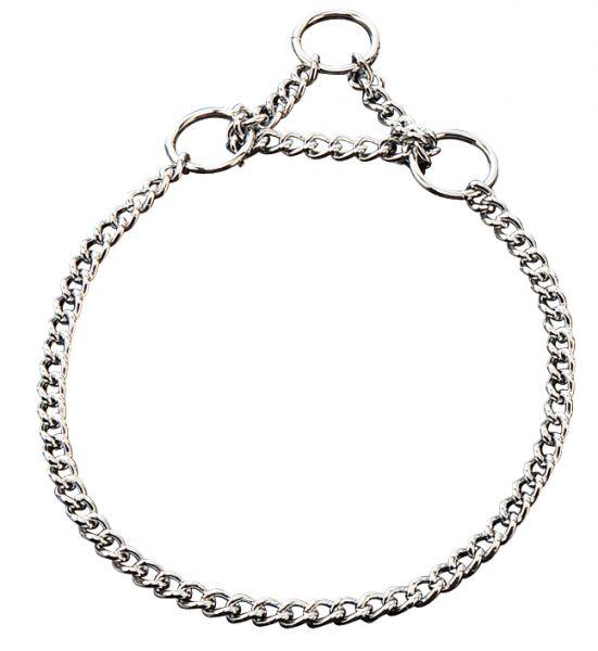 Halskette chrom 1-reihig