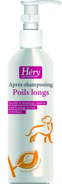 Héry Poils Longs - Pflegespülung für langes Fell
