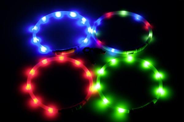 ANGEBOT: Visio Light - Blinkhalsband mit AKKU