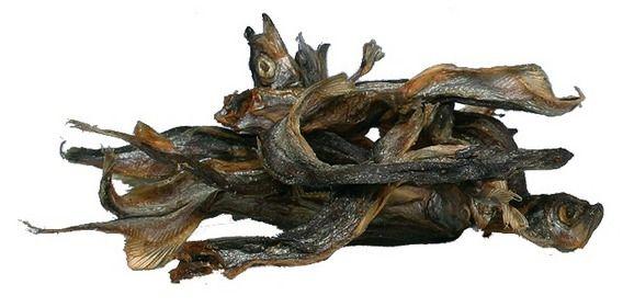 Trockenfisch: Sprotten