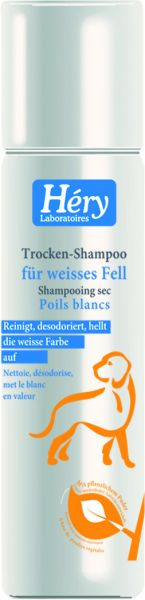 Héry Reinigungsspray - Trocken Shampoo für weißes Fell