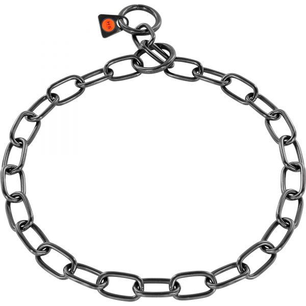 Halskette Edelstahl, schwarz, 3,0 mm, Medium