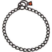 Halskette Edelstahl, schwarz, 3,0 mm