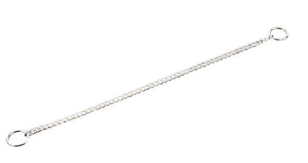 Halskette Stahl verchromt 1,5 mm