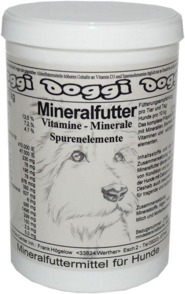 Doggi-Mineralfutter