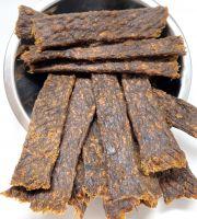 Getrocknete Kaustreifen aus Pferdefleisch